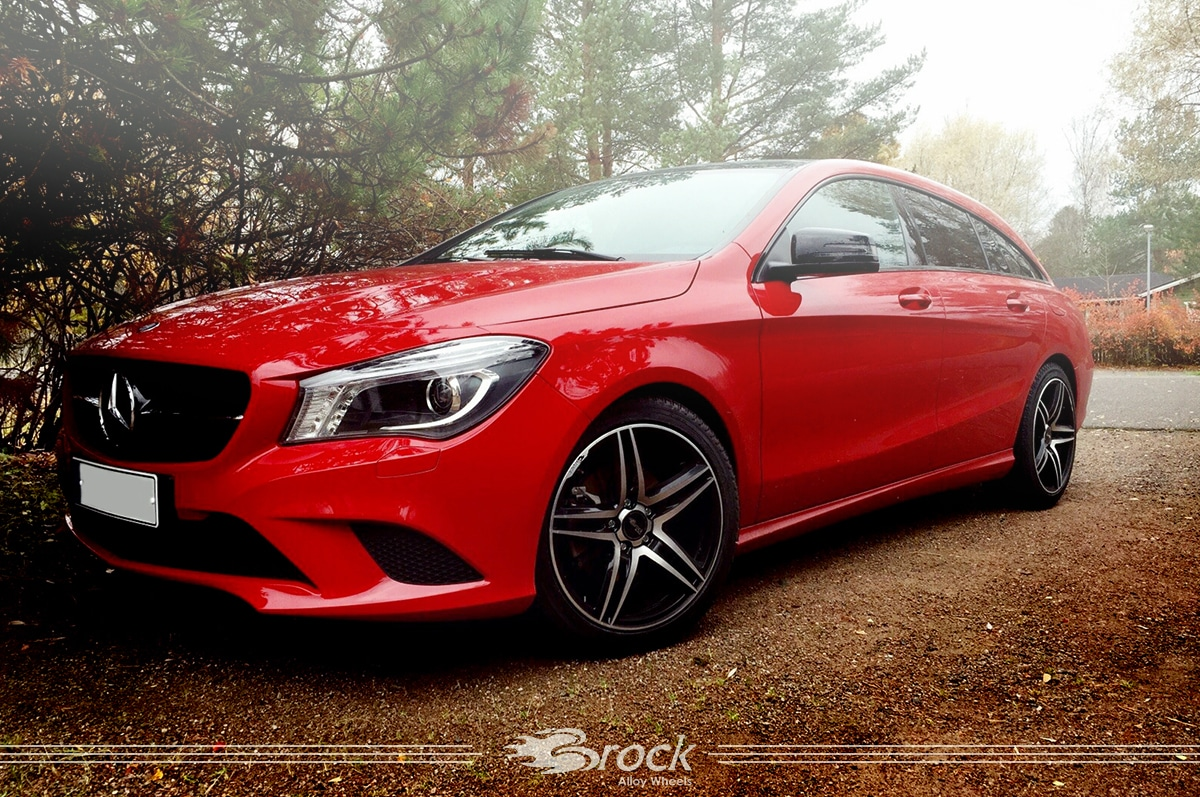 Mercedes Benz CLA Shooting Brake Brock B33 SGVP