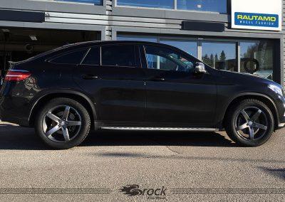 Mercedes Benz GLE Brock B35 9×20 5×112 TM