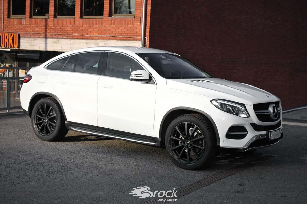 Mercedes Benz GLE Coupe Brock B32 SKM Felge 9.0x21
