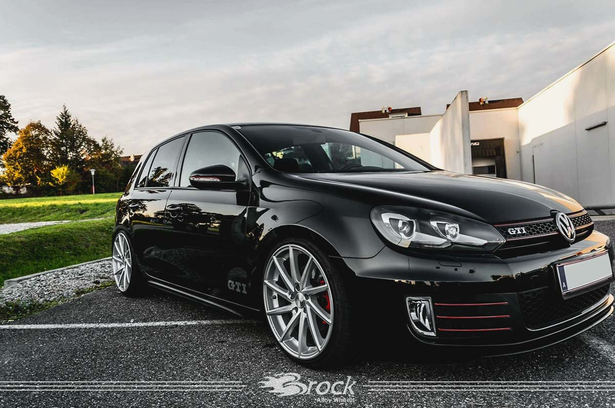 vw golf vi gti felge brock b37 ksvp brock alloy wheels rc design alufelgen
