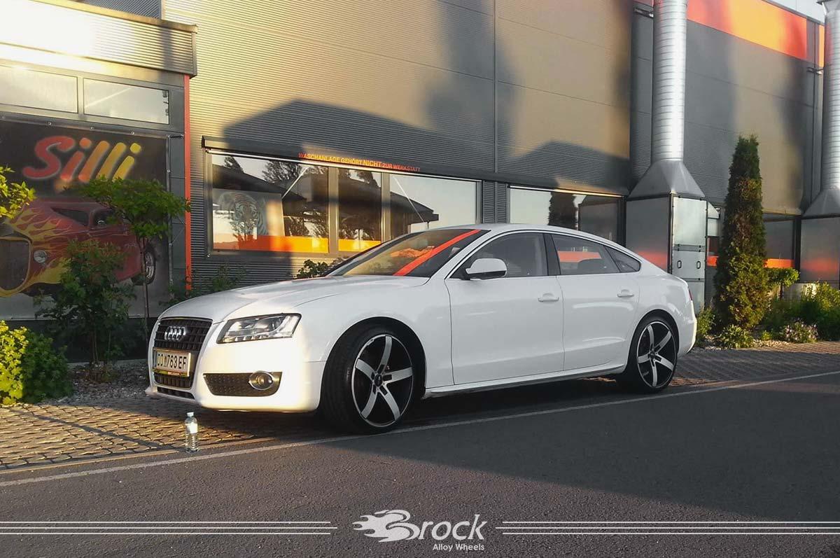 Audi A5 Felge Brock B35 SMVP 9.0x20