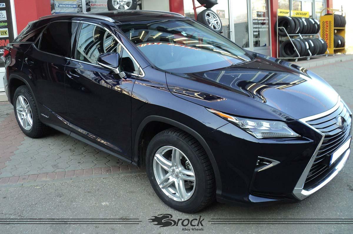 Lexus RX-450H Brock B33 KS 18Zoll Felge
