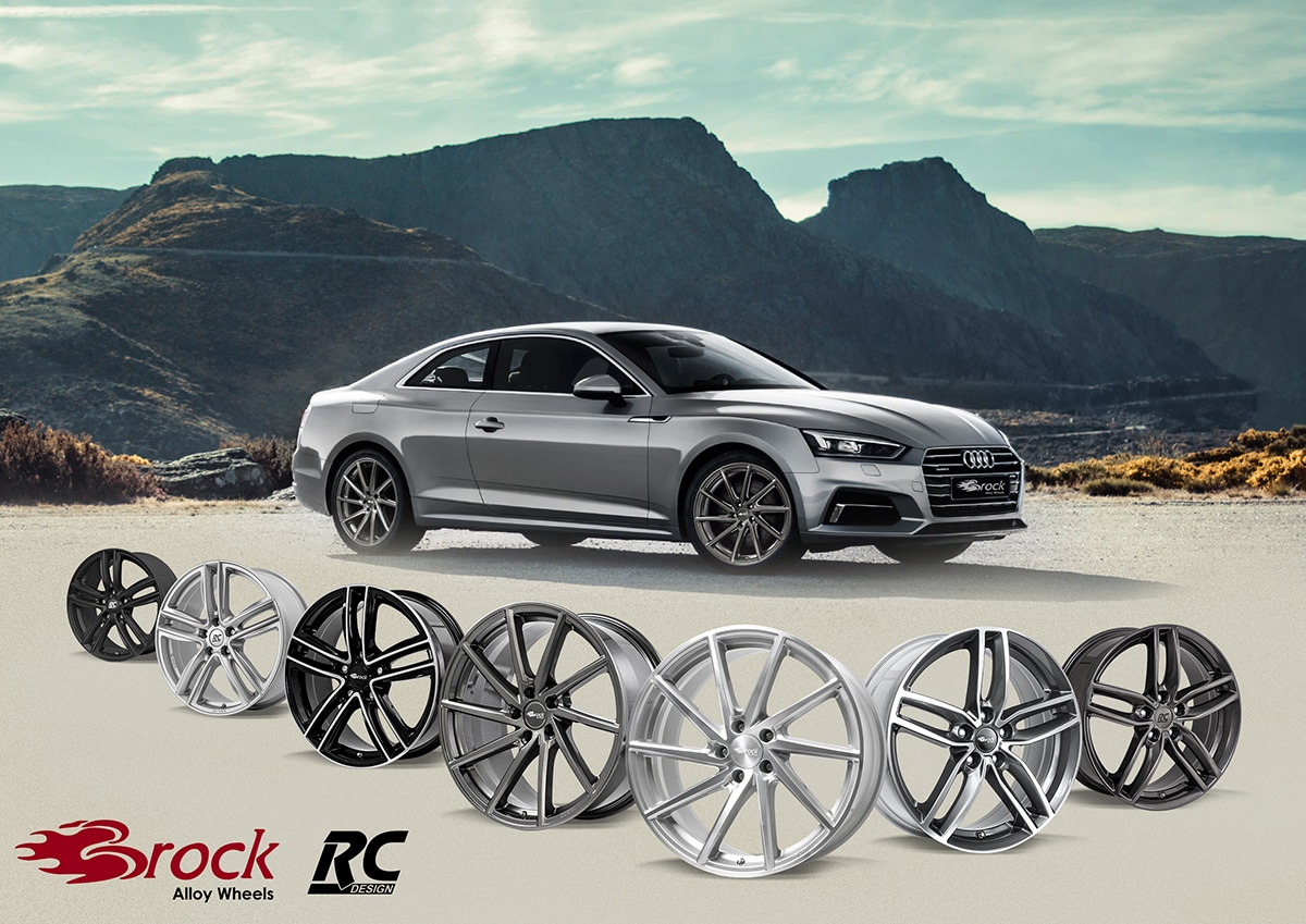 brock alloy wheels mit vielen alternativen f r audi a5. Black Bedroom Furniture Sets. Home Design Ideas