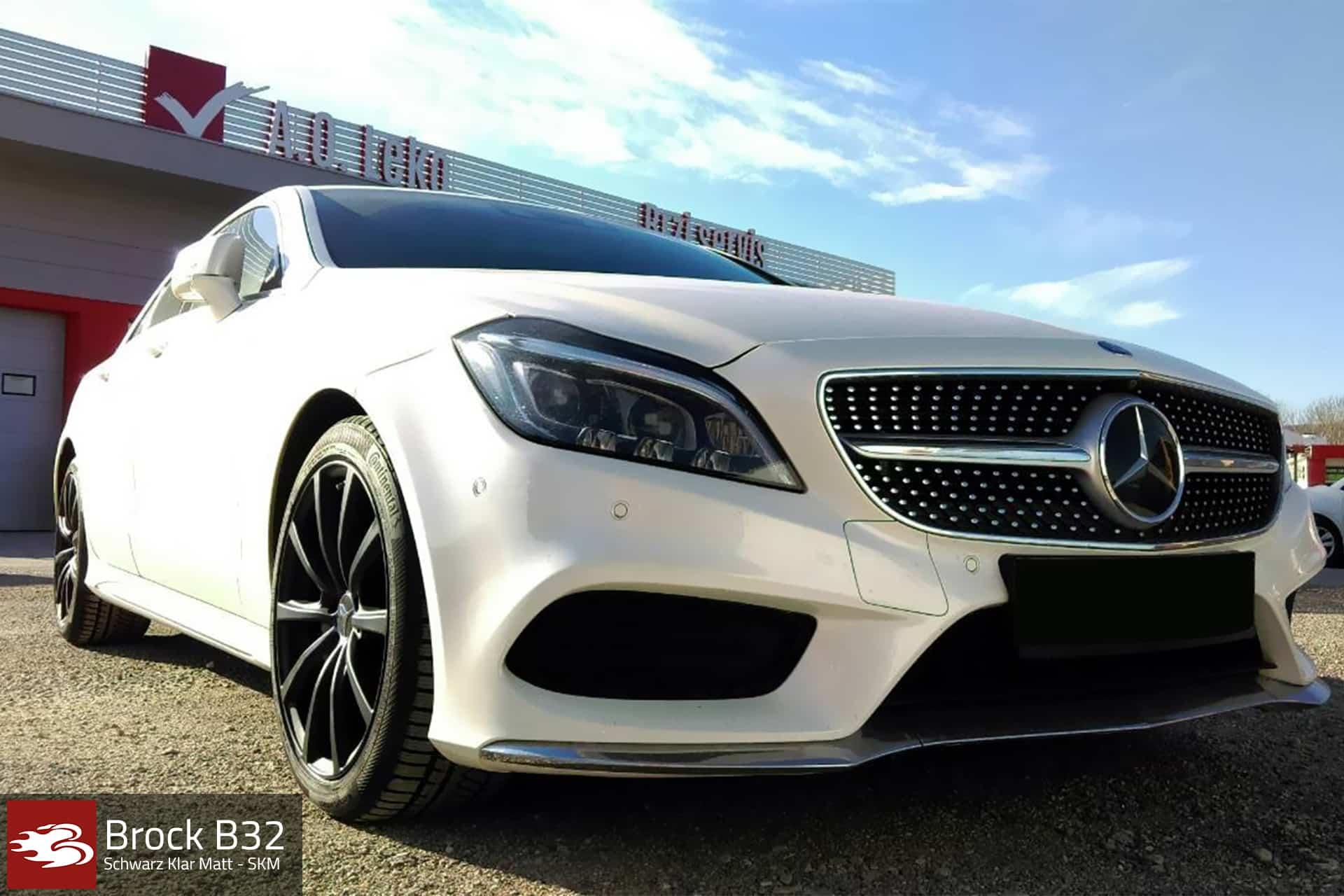 Mercedes Benz CLS W218 Brock B32 SKM