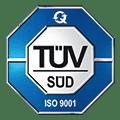 TÜV Süd Zertifiziert nach ISO: 9001