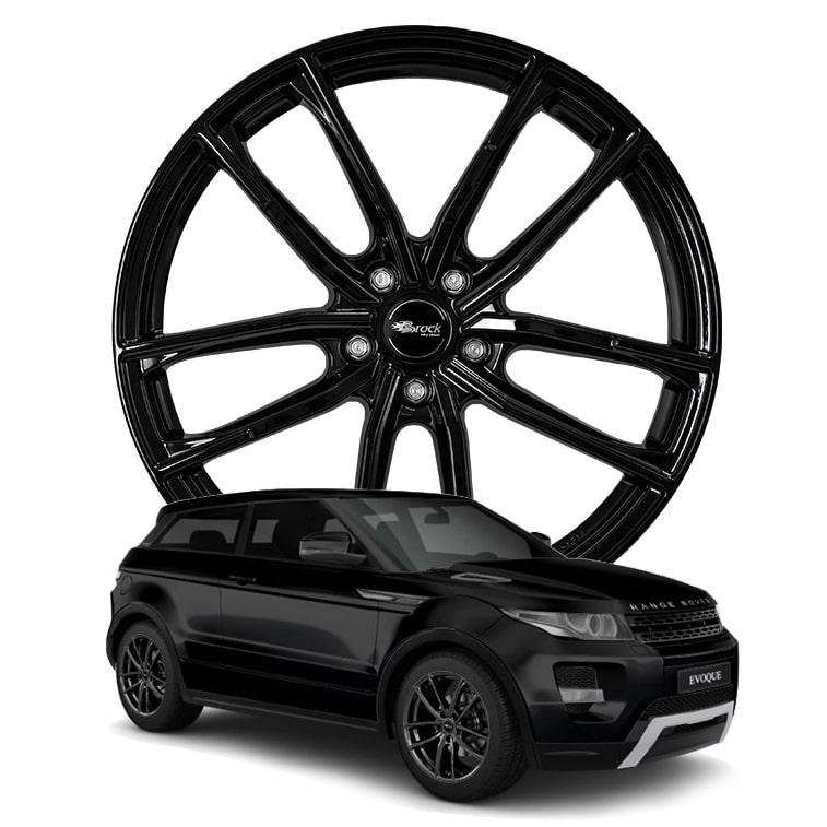 Land Rover Range Rover Evoque Typ LV - Brock B38 SG - 8.0x20 5x108 ET45 + ECE / ABE