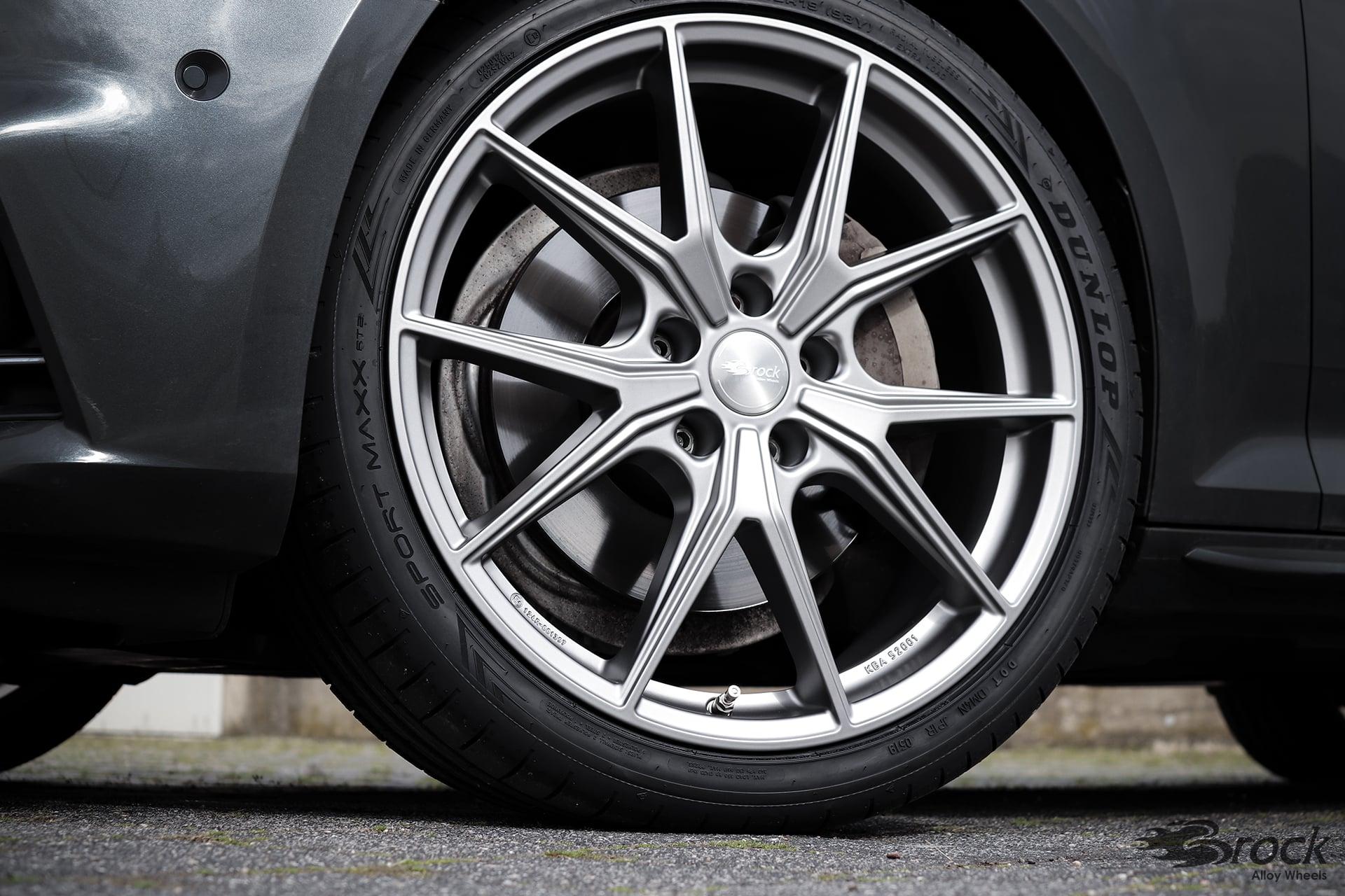Audi A4 Alufelgen Brock B40 FGM
