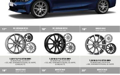 Alufelgen für BMW 3er Typ 3GL