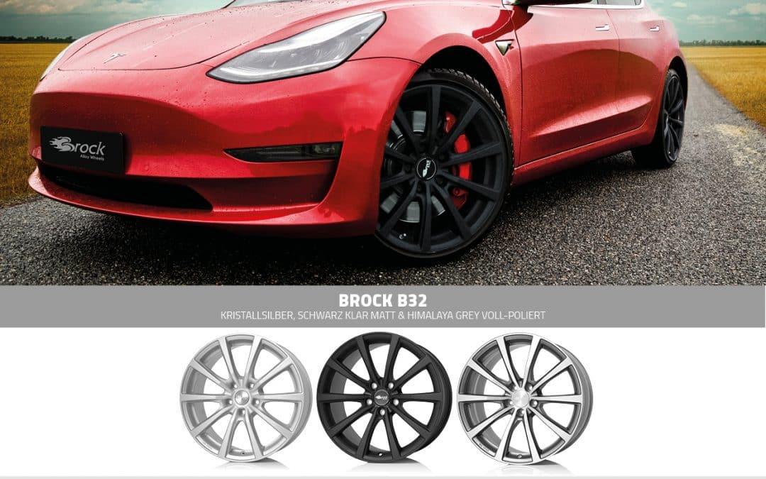 Brock B32 für Tesla Model 3