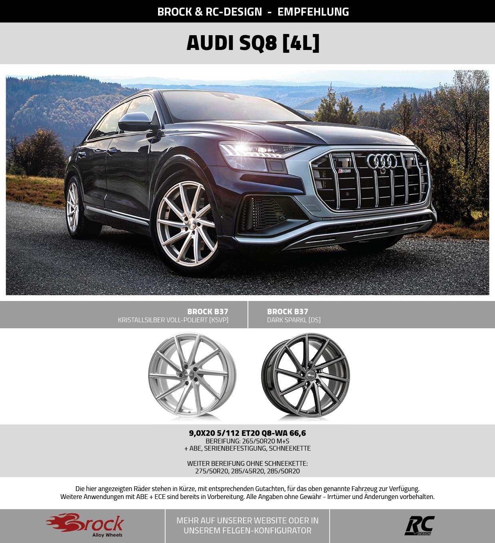 Alufelgen für Audi SQ8 Typ 4L