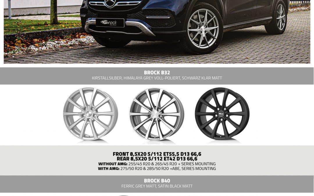 Alufelgen für Mercedes GLE