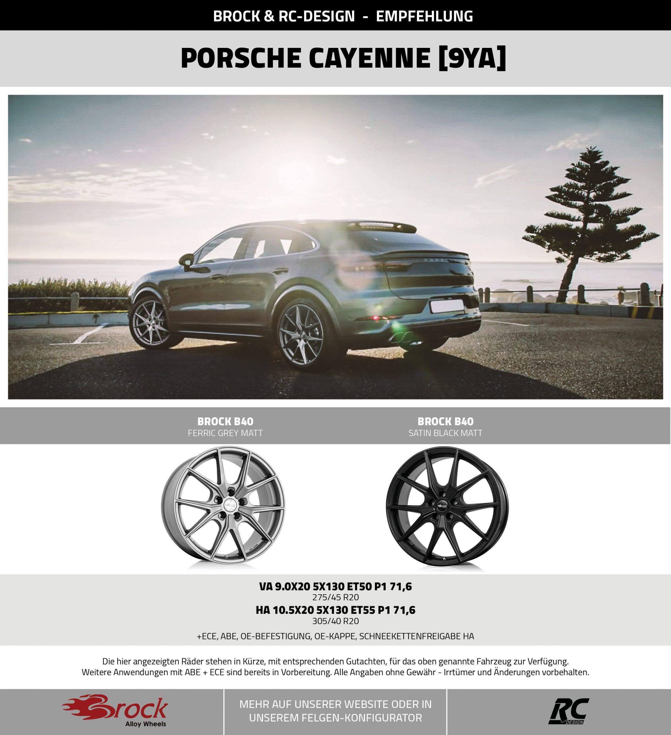 Empfehlung Porsche Cayenne