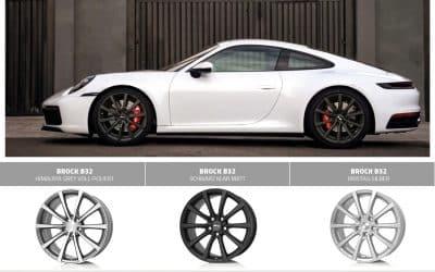 Alufelgen für Porsche 911