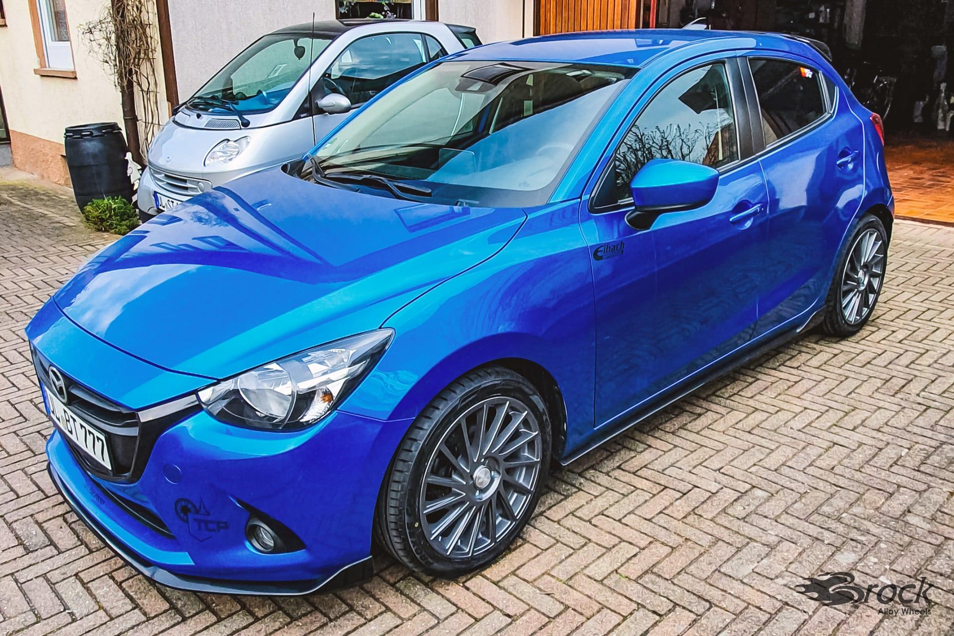Mazda 6 GH/GHE 2.2 MZ RCD Dynamic mit der Alufelge Brock B39