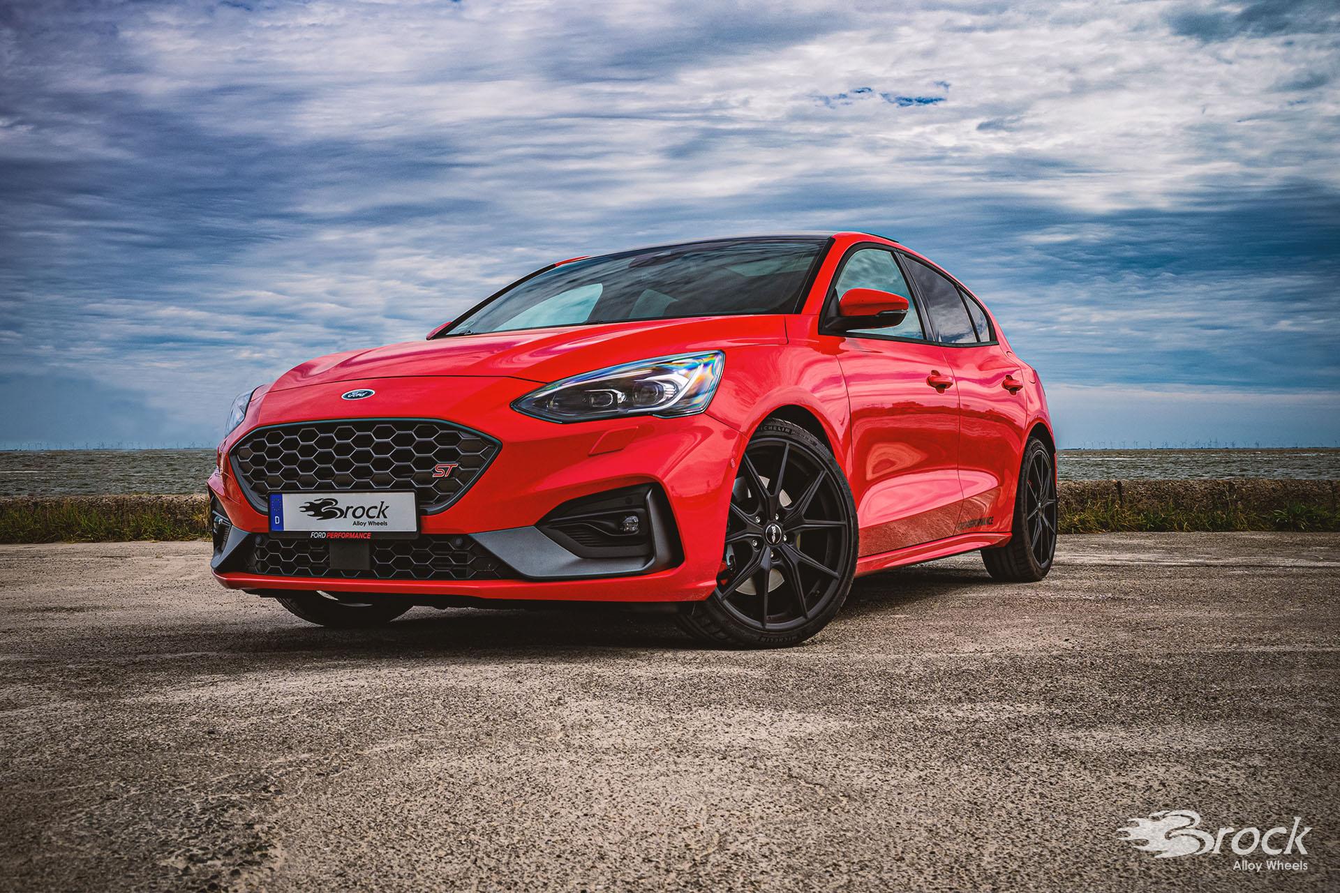 19 Zoll ABE Alufelgen für den Ford Focus ST [DEH] - Brock B40