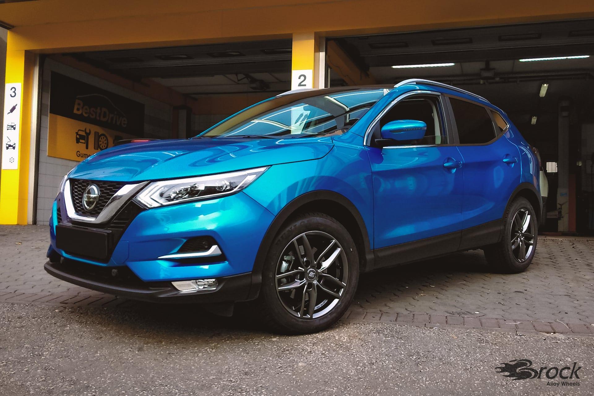 17 Zoll Alufelgen für den Nissan Qashqai [J11] Facelift - RC-Design RC29