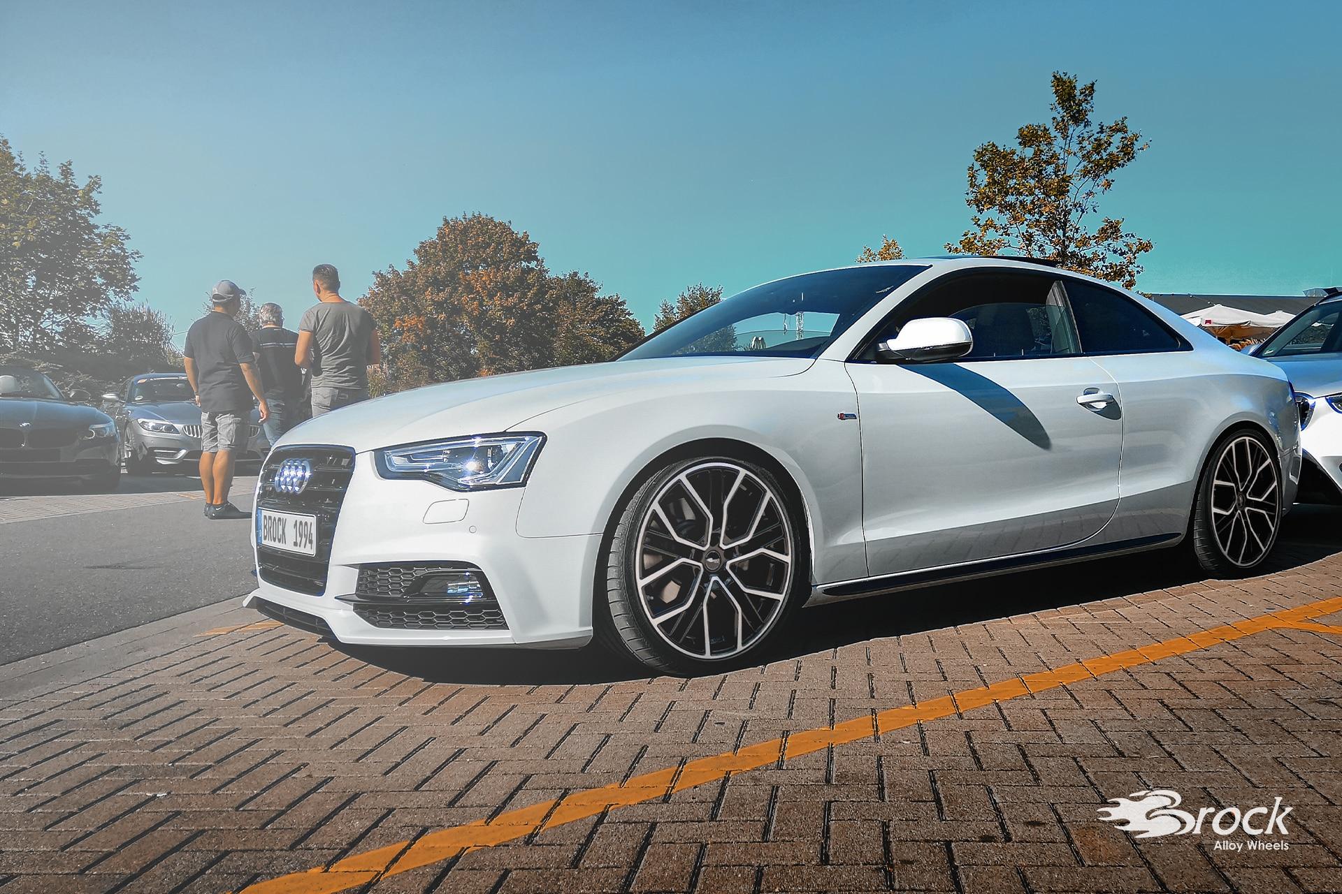 20 Zoll Brock B41 Alufelgen mit ABE für den Audi A5