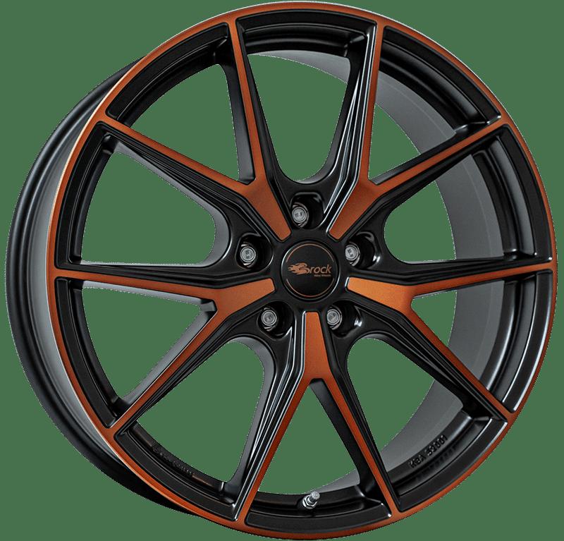 Brock B40 BOM - Black Orange Matt