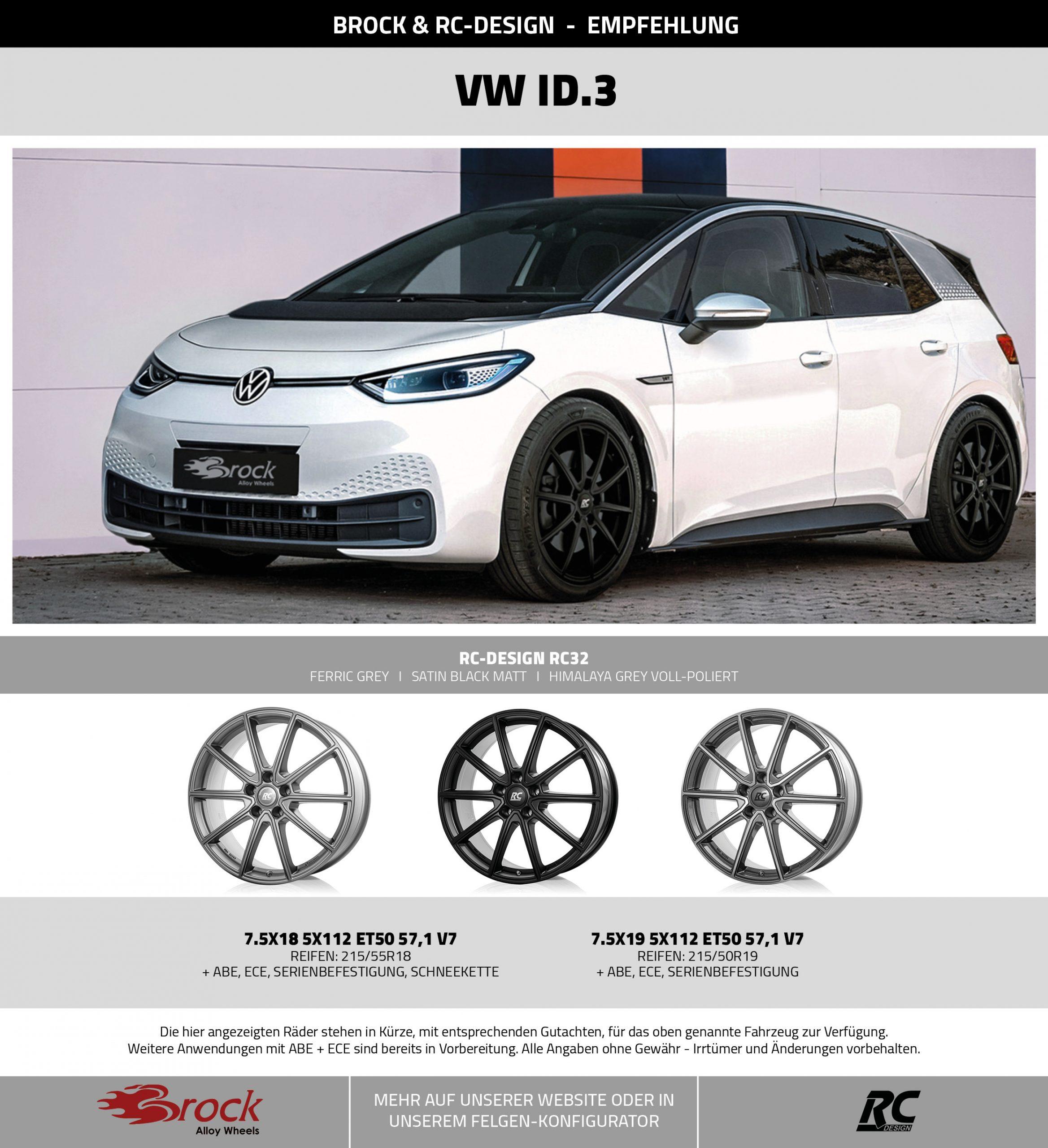 Empfehlung VW ID.3