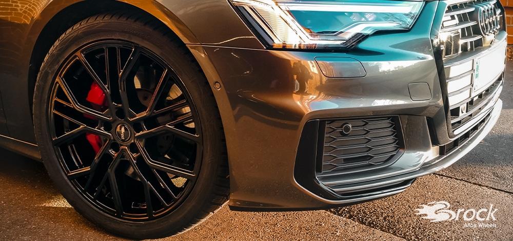 20 Zoll ABE Alufelgen Brock B41 für den Audi A6 Hybrid