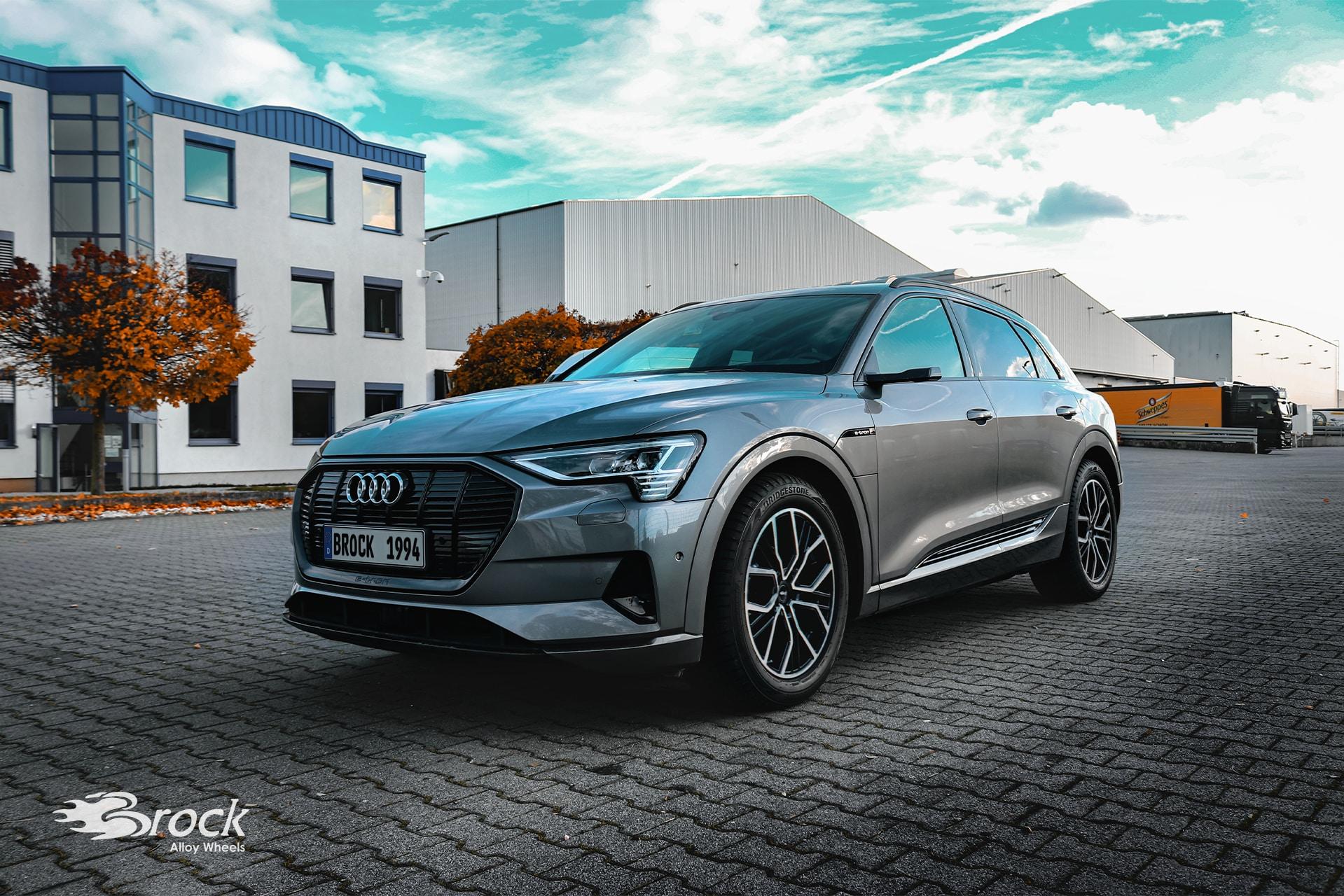 20 Zoll ECE Alufelgen Brock B41 für den Audi e-tron (GE)