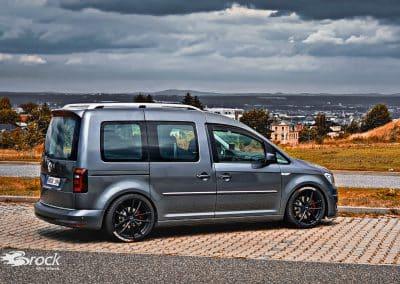 19 Zoll Felgen Brock B38 für den VW Caddy SA Facelift