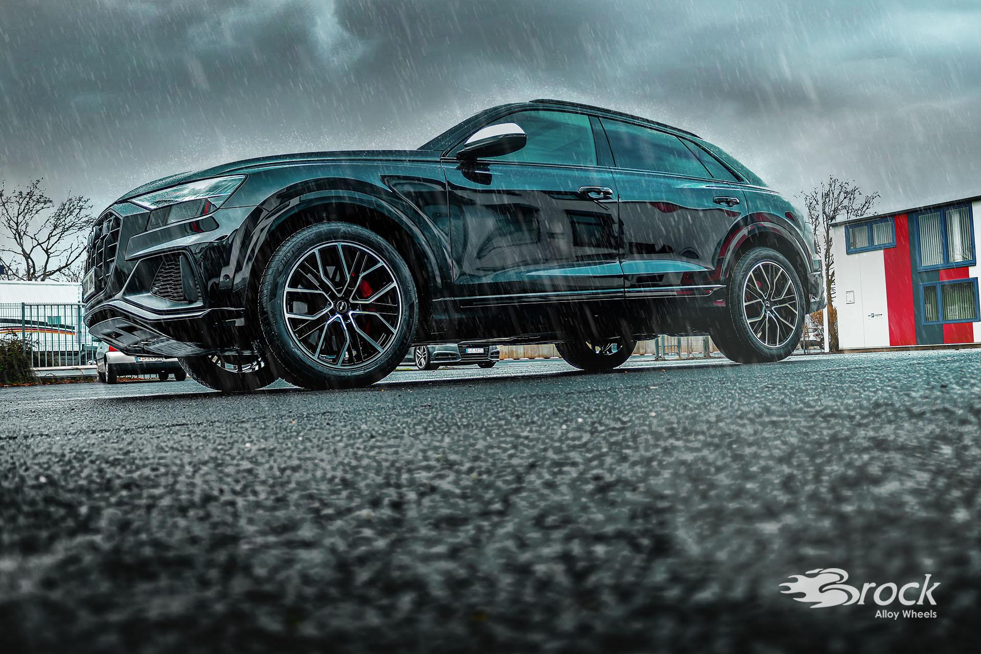 21 Zoll ABE Alufelgen Brock B41 für den Audi SQ8 (4M (4L))