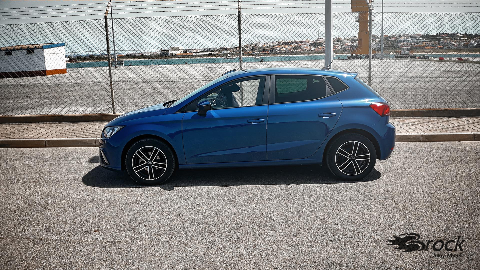 16 Zoll ABE Winterfelgen RC-Design RC27 für den Seat Ibiza