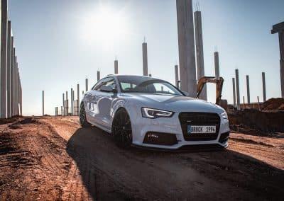 20 Zoll Leichtmetallfelgen Brock B42 für den Audi A5 in Schwarz Glanz