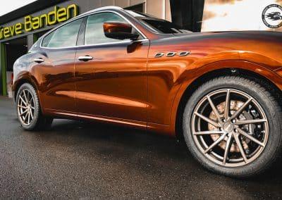 20 inch Brock B37 alloy wheels for Maserati Levante