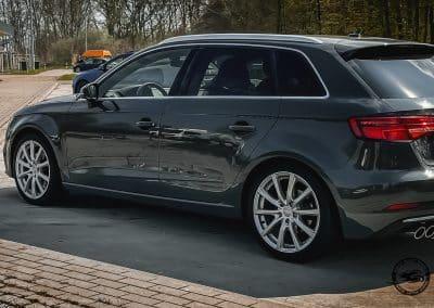 18 Zoll Alufelgen Brock B32 für den Audi A3 in Kristallsilber