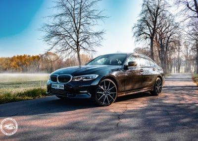 20 Zoll Alufelgen Brock B42 für den BMW 3er in Schwarz Glanz Voll-Poliert
