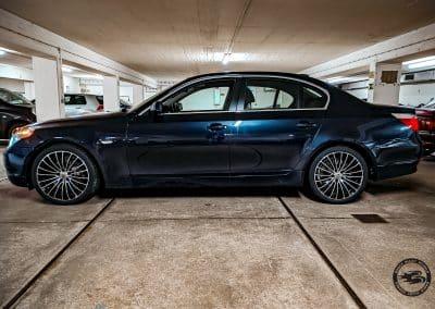 19 Zoll - Brock B24 Alufelgen auf dem BMW 5er in Schwarz Poliert
