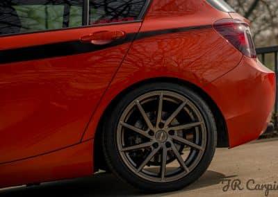 18 Zoll - Brock B37 Alufelgen auf dem BMW 1er in Dark Sparkle