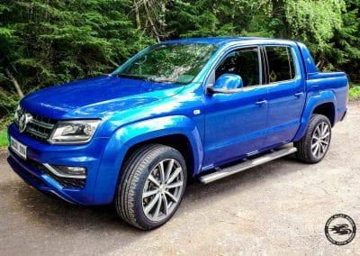 21 Zoll Alufelge für den VW Amarok in Himalya Grey Voll-Poliert