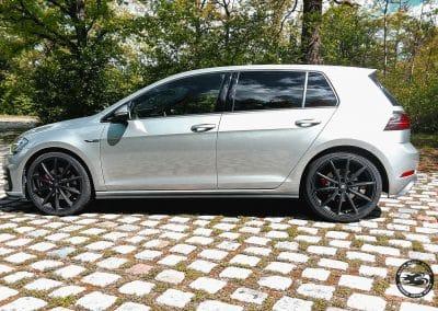 19 Zoll Alufelgen für den VW Golf VII (AU) in Satin Black Matt